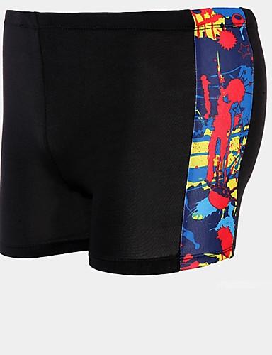 baratos Roupas de Mergulho & Camisas de Proteção-YLENGDA Homens Shorts de Natação Calças Resistente a UV Esticar Natação Snorkeling Moderno Verão
