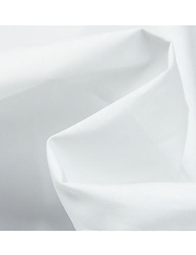 olcso Fashion Fabric-Pamut Egyszínű Merev 150 cm szélesség szövet mert Ing eladott valami által 0,45 m