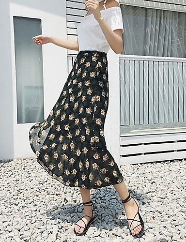 Clothing, Shoes & Accessories Wallis Purple Floral Embroidered Swing Skirt Size 14 Eur 42 Holiday Vintage Look Latest Fashion Skirts