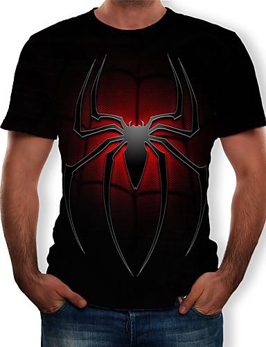 billige Cosplay til hverdagen-Cosplay Cosplay T-skjorte Terylene 3D Til Herre / Dame