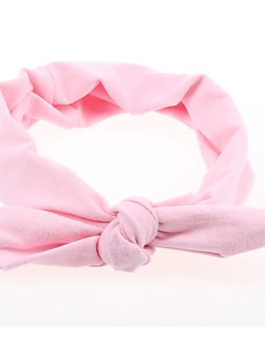 Taapero Tyttöjen Perus / Makea Yhtenäinen Painettu Akryyli Hiuskoristeet Punastuvan vaaleanpunainen / Keltainen / Fuksia Yksi koko