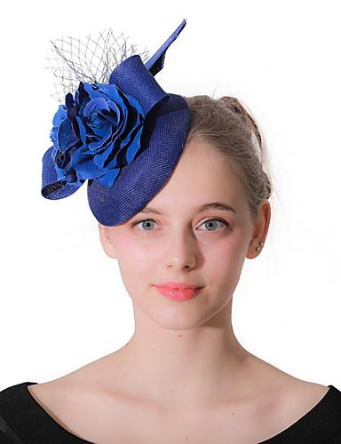Gentile Per Donna Kentucky Derby Elegante Tessuto Tinta Unita #07291296