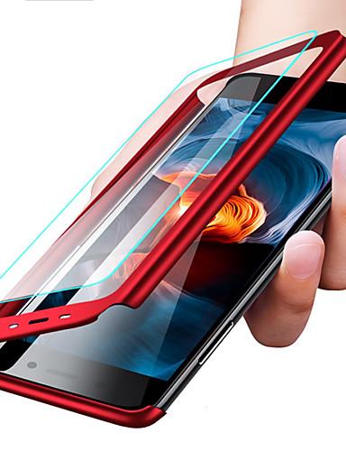 Pouzdro Uyumluluk Huawei Huawei P20 / Huawei P20 Pro / Huawei P20 lite Şoka Dayanıklı / Ultra İnce / Buzlu Tam Kaplama Kılıf Solid Sert PC / P10 Plus / P10 Lite / P10