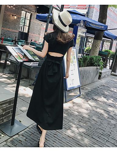 e7180f26ed51 Γυναικεία Κομψό στυλ street Γραμμή Α Φόρεμα - Μονόχρωμο