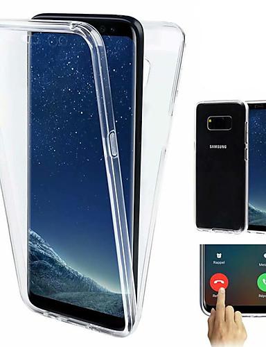 Carcasă Pro Samsung Galaxy Galaxy S10 / Galaxy S10 Plus Nárazuvzdorné / Ultra tenké / Průhledné Celý kryt Jednobarevné Měkké TPU pro S9 / S9 Plus / S8 Plus
