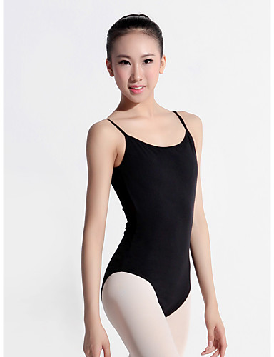 preiswerte Ballettbekleidung-Ballett Turnanzug Damen Training Elasthan / Lycra Horizontal gerüscht Gymnastikanzug / Einteiler