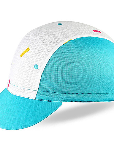 cheap Cycling Clothing-Mysenlan Cycling Beanie / Hat Visor Sunscreen Breathable Cycling Sweat-wicking Bike / Cycling Blue Pink Sky Blue+White for Unisex Adults' Outdoor Exercise Recreational Cycling