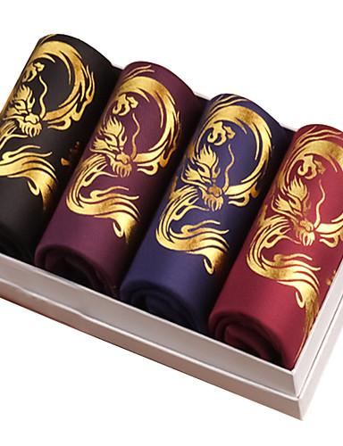 voordelige Herenondergoed & Zwemkleding-Standaard Boxer Heren EU / VS maat 4-delig Medium Taille