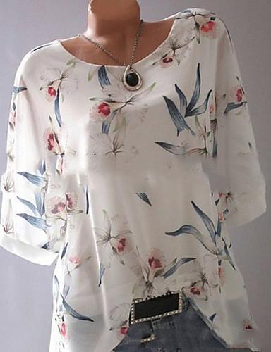 024914d88 baratos Blusas Femininas-Mulheres Camiseta Estampado