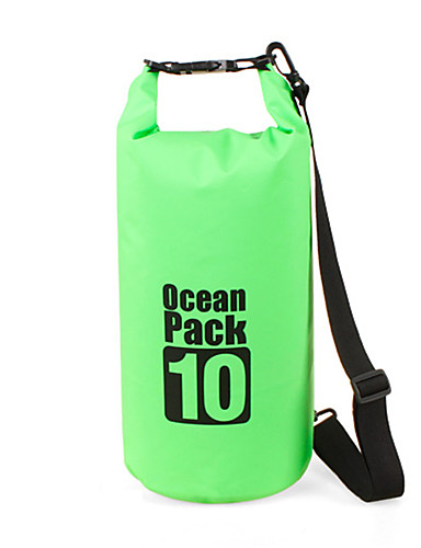 10 L Waterproof Dry Bag Compression Pack Waterproof Floating Lightweight for Swimming Diving Surfing