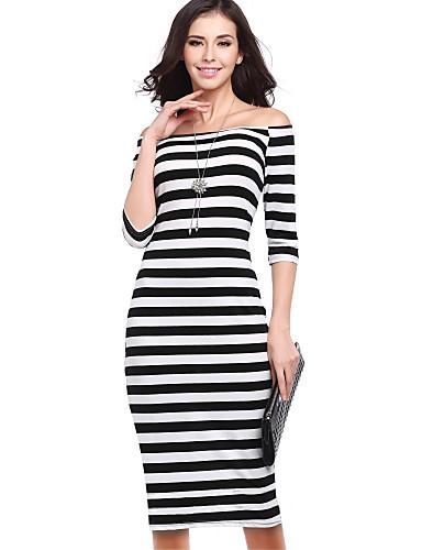 d56f0f1e9dec γυναικεία midi λεπτή θήκη φόρεμα από τον ώμο μαύρο s m l xl