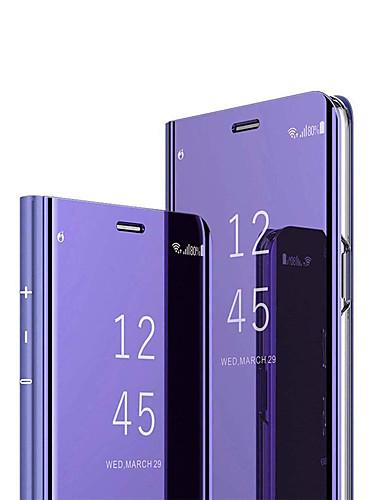 מגן עבור Huawei Huawei P30 / Huawei P30 Pro / Huawei Mate 20 pro מראה / נפתח-נסגר כיסוי מלא אחיד קשיח PC