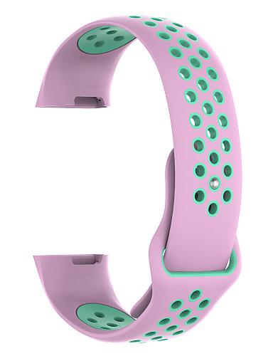 צפו בנד ל Fitbit Charge 3 פיטביט רצועת ספורט סיליקוןריצה רצועת יד לספורט