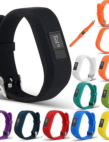 ספורט צמיד צמיד רצועת הלהקה wristband פרק כף היד עבור garmin vivofit 3