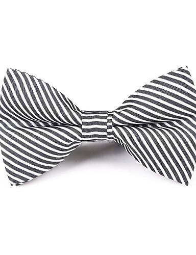 저렴한 남성 넥타이 & 보타이-남성용 파티 / 활동적 보타이 - 줄무늬 / 프린트