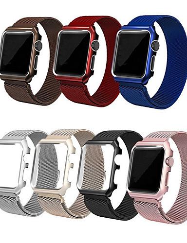 smartwatch עבור סדרת שעונים Apple 4/3/2/1 תפוח milanese לולאה רצועת נירוסטה רצועת היד