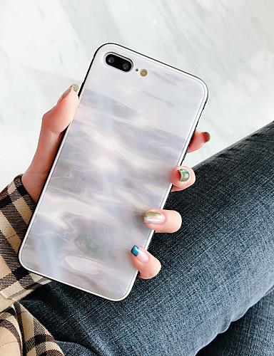 Pouzdro Uyumluluk Apple iPhone XS / iPhone XR / iPhone XS Max Şoka Dayanıklı / Toz Geçirmez / Temalı Arka Kapak Çizgiler / Dalgalar Temperli Cam