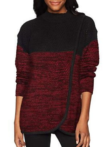 voordelige Damesbovenkleding-Dames Standaard Sweatshirt Kleurenblok