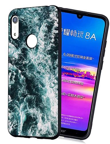 Pouzdro Uyumluluk Huawei Huawei Nova 3i / Y7 Prime (2018) / Huawei Y7 2019 Şoka Dayanıklı / Buzlu / Temalı Arka Kapak Manzara TPU