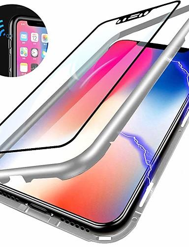 Pouzdro Uyumluluk OnePlus OnePlus 6 Şoka Dayanıklı / Ayna Arka Kapak Solid Sert Temperli Cam