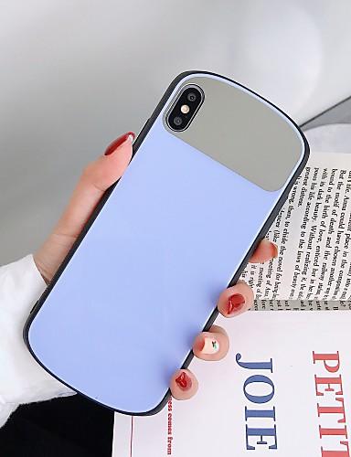 Pouzdro Uyumluluk Apple iPhone XS / iPhone XR / iPhone XS Max Karanlıkta Parlayan / Ultra İnce Arka Kapak Kelime / Cümle Silika Jel