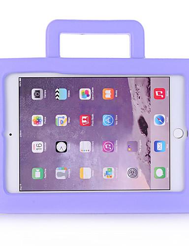 Pouzdro Uyumluluk Apple iPad Mini 3/2/1 / iPad Mini 4 Çocuk Kilidi Arka Kapak Solid / 3D Karikatür EVA