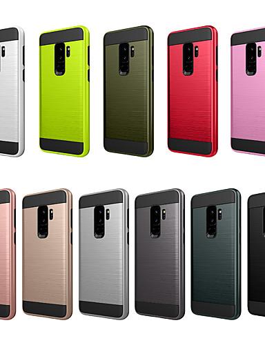 Pouzdro Uyumluluk Samsung Galaxy S9 Plus Toz Geçirmez / Buzlu Arka Kapak Solid PC