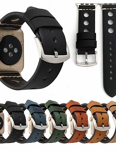Watch Band için Apple Watch Series 4/3/2/1 Apple Klasik Toka Naylon / Gerçek Deri Bilek Askısı