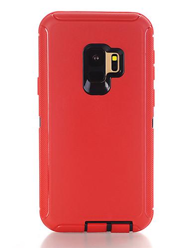 hoesje Voor Samsung Galaxy S9 Plus Schokbestendig Achterkant Effen TPU