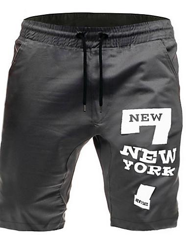 Erkek Temel Şortlar Pantolon - Desen Siyah Ordu Yeşili Gri US36 / UK36 / EU44 US38 / UK38 / EU46 US40 / UK40 / EU48