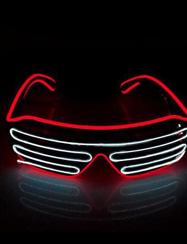 voordelige Sieraden-Spook Hallloween figuren / Vakantiesieraden / Masquerade Mask Tiener Punk / Halloween Heren Azuur / Kleurrijk / Wit PVC Maskerade Cosplayaccessoires Halloween / Carnaval / Maskerade kostuums / Dames