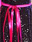preiswerte Cocktailkleider-A-Linie Illusionsausschnitt Kurz / Mini Organza Pailletten Cocktailparty / Festtage Kleid mit durch TS Couture®