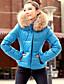 cheap Women's Outerwear-KaKaNi Women's European Fashion Long Sleeve Cotton Coat