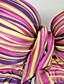 halpa Bikinit ja uima-asut 2017-Naisten Monokini Uima-asut Kukka-aihe automaattikatkaisin Painettu Niskalenkki Sateenkaari