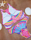 női Trikó virágmintás tankinis (nylon)