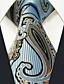 preiswerte Krawatten & Fliegen-Herrn Party Grundlegend, Kunstseide Hals-Binder - Grundlegend Einfarbig Paisley-Muster