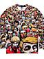 billige Hættetrøjer og sweatshirts til herrer-Herre Sport Sweatshirt - Trykt mønster