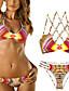 hesapli Bikiniler ve Mayolar 2017-Kadın's Boho Bikiniler Geometrik