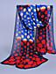 billige Trendy og farverige chiffontørklæder-Damer Vintage / Sødt / Casual Chiffon Halstørklæde-Trykt mønster Rektangulær