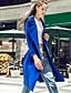 preiswerte Mantel & Trenchcoat-Hemdkragen Winter Baumwolle Polyester