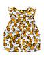 Baby Kinder Baumwolle Baby Party Ausgehen Lässig/Alltäglich Urlaub Tiermuster Druck Kleidungs Set,Tierdruck Cartoon Frühling Sommer