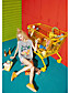 Naiset Hihaton Pyöreä kaula-aukko Puuvilla Viskoosia Yksinkertainen Päivittäin Kausaliteetti T-paita,Painettu Lainaukset