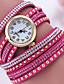 cheap Bracelet Watches-Women's Bracelet Watch Digital Metal Band Black White Red Brown Grey Pink Rose