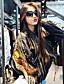 preiswerte Damen Blazers & Anzugjacken-Damen Solide Einfach Lässig/Alltäglich Jacke,Ständer Frühling Lange Ärmel Standard Baumwolle Stickerei