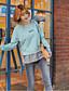 preiswerte Damen Kapuzenpullover & Sweatshirts-Damen Active Set Sport Ausgehen Lässig/Alltäglich Einfach Aktiv Boho Solide Rundhalsausschnitt Fleece-Futter Mikro-elastischBaumwolle