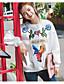 Damen Pullover Sport Ausgehen Lässig/Alltäglich Einfach Aktiv Boho Solide Druck Rundhalsausschnitt Fleece-Futter Mikro-elastisch