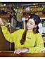 preiswerte Damen Kapuzenpullover & Sweatshirts-Damen Kapuzenshirt Lässig/Alltäglich Solide Unelastisch Polyester