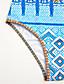 abordables Biquinis y Bañadores para Mujer-Mujer Una Pieza - Estampado Halter