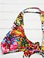 זול 2017ביקיני ובגדי ים-M L XL דפוס, בגדי ים ביקיני אודם פרחוני בוהו בגדי ריקוד נשים