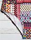 זול 2017ביקיני ובגדי ים-מכנס פרחוני, סגנון אמנותי - חלק אחד (שלם) קלסי ונצחי בגדי ריקוד נשים